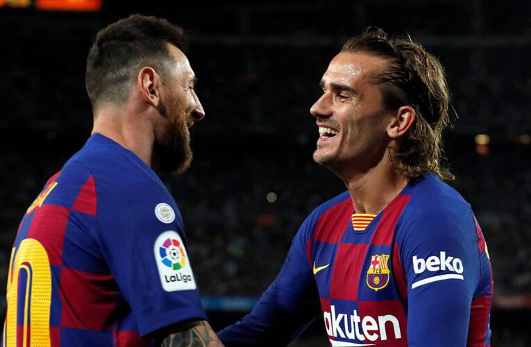 Nhiều thông tin đồn đoán về mối quan hệ bất hóa của Griezmann và Messi