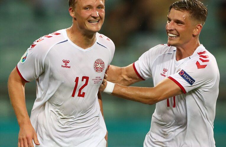 Đội tuyển Đan Mạch đã giành vé vào bán kết EURO 2020