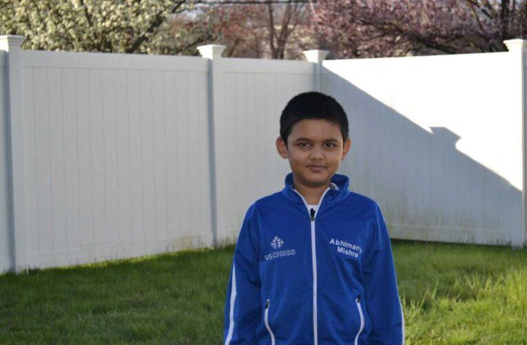 Abhimanyu Mishra chính thức trở thành Đại kiện tướng cờ vua ở tuổi 12