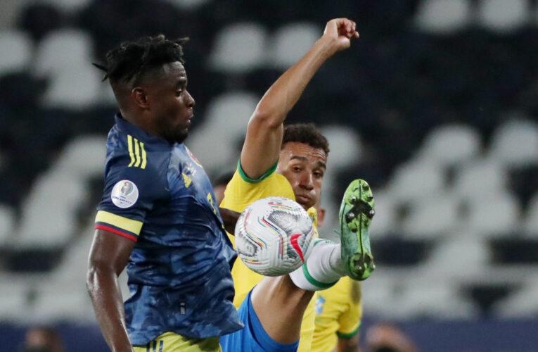 Brazil thắng ngược Colombia- giữ vị trí đầu bảng B ở Copa America 2021