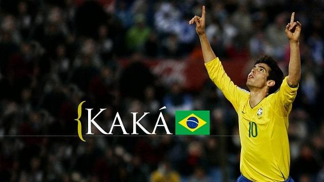 Chặng đường sự nghiệp thành công của hoàng tử brazil Ricardo Kaka